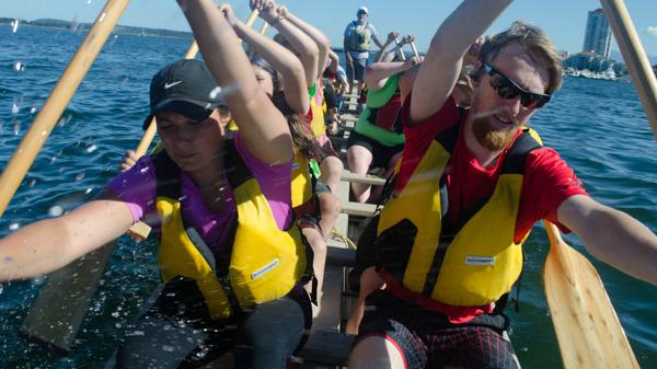 Youth Dragon Boat - Full Throttle Dragon Boating