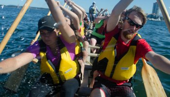 Youth Dragon Boat - Full Throttle Dragon Boating